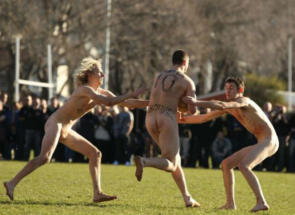 Nude Blacks - в Новой Зеландии в регби играют даже нудисты