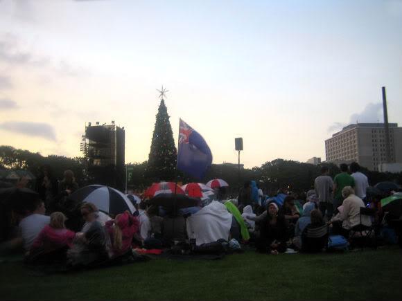 Новый год 2010 в Окленде