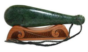 Мере из зеленого камня