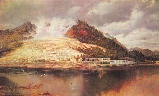 Извержение вулкана Руапеху и легенда маори о белой пироге-призраке