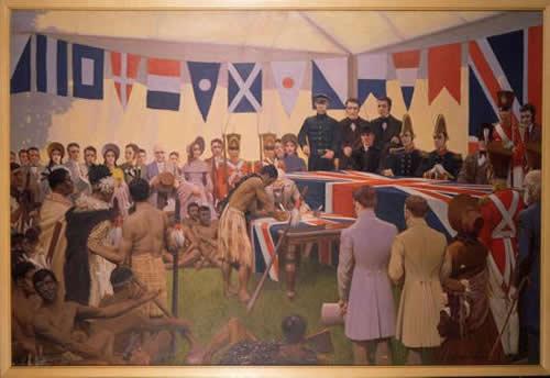 Подписание Договора Вайтанги.