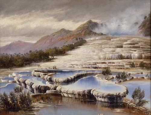 Белые террасы (картина)