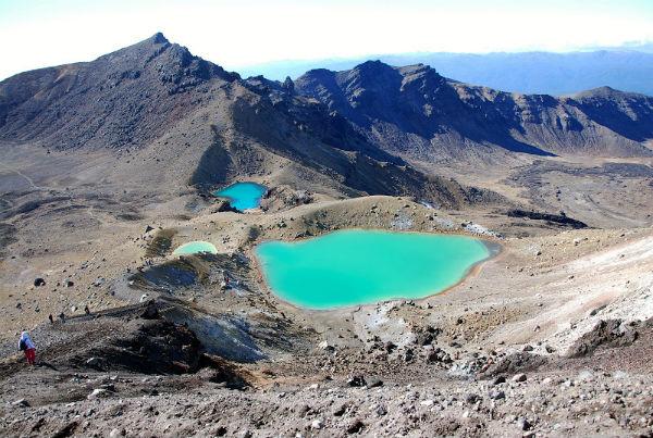 Изумрудные озера Тонгариро