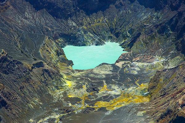 Вулканы в новой зеландии