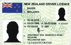 Водительские права в Новой Зеландии