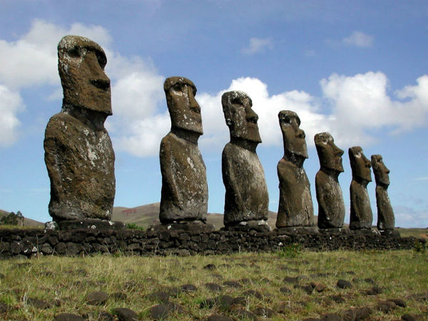 Истуканы Рапа-Нуи Остров Пасхи, Полинезия