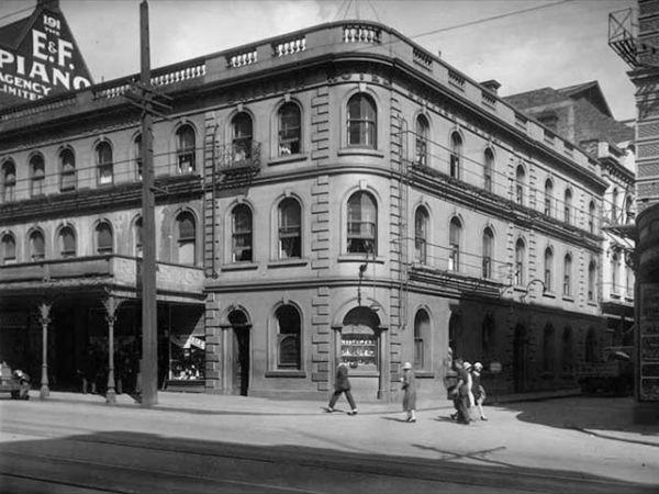 Угол Durham Street West, 1928 год