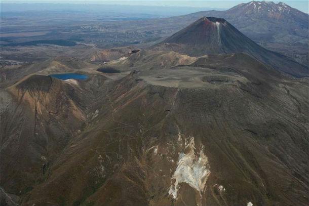 Вулканы в Национальном парке Тонгариро