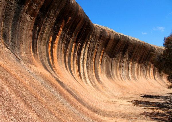 Волнистая скала (Wave Rock)