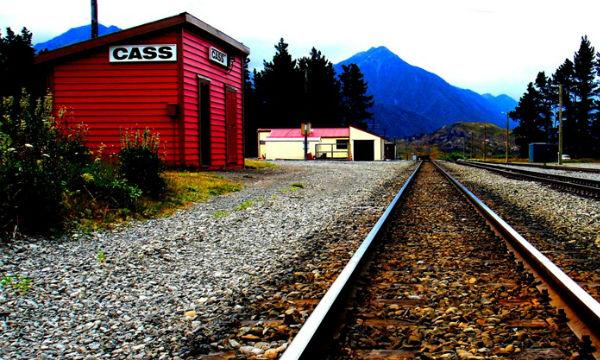 Кэсс, Новая Зеландия - город одного жителя