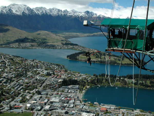 The Queenstown Ledge Bungy