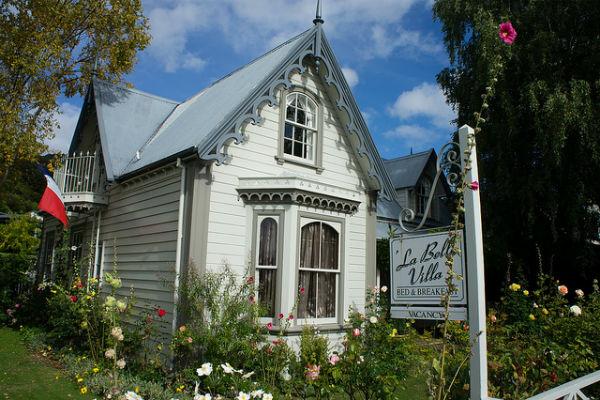 Акароа - французская деревенька в Новой Зеландии