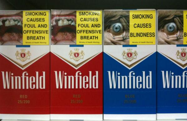 Новая Зеландия - курение табака и марихуанна