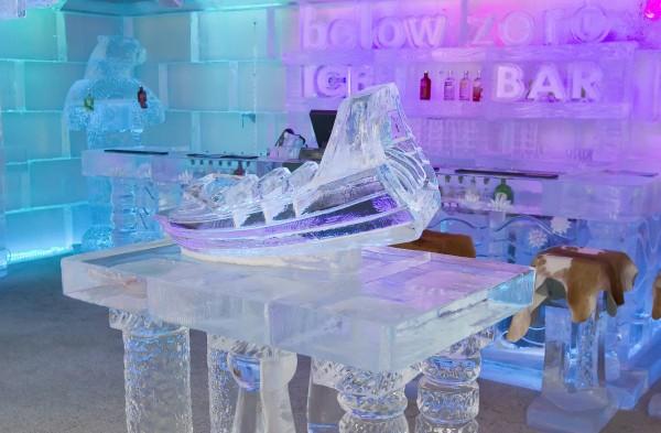 Ледяной бар в Квинстауне