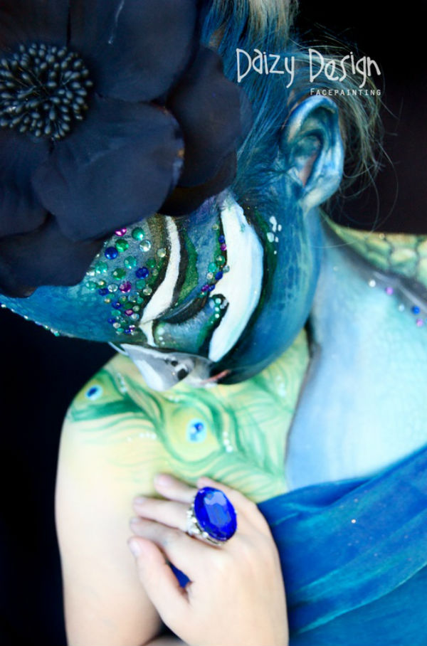 Бодиарт от художницы из Новой Зеландии Кристи Льюис