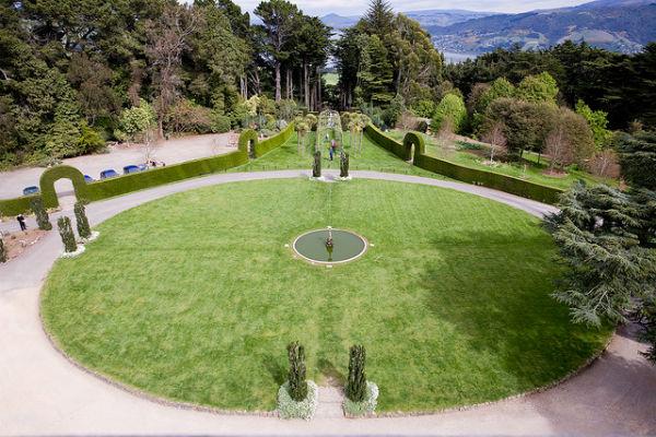 Замок Larnach - единственный замок в Новой Зеландии