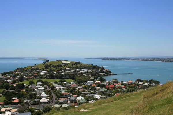 Девонпорт - один из самых живописных пригородов Окленда