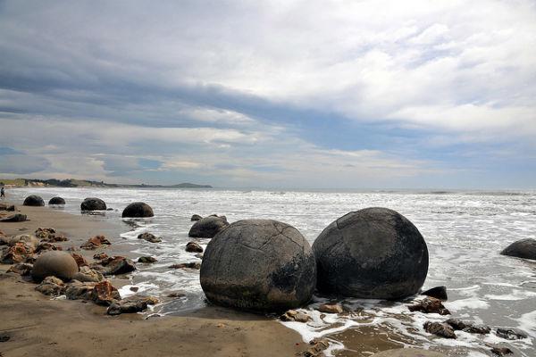 Koekohe Beach, Отаго, Южный остров