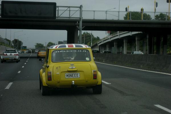 Автомобильные номера в Новой Зеландии