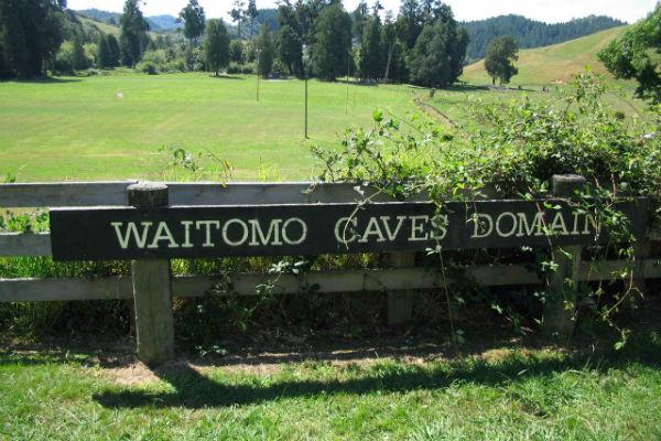 Пещеры Waitomo - звездное небо из светлячков